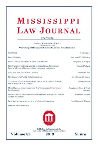 Mississippi Law Journal