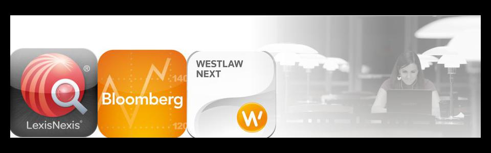Westlaw, Lexis and Bloomberg summer access